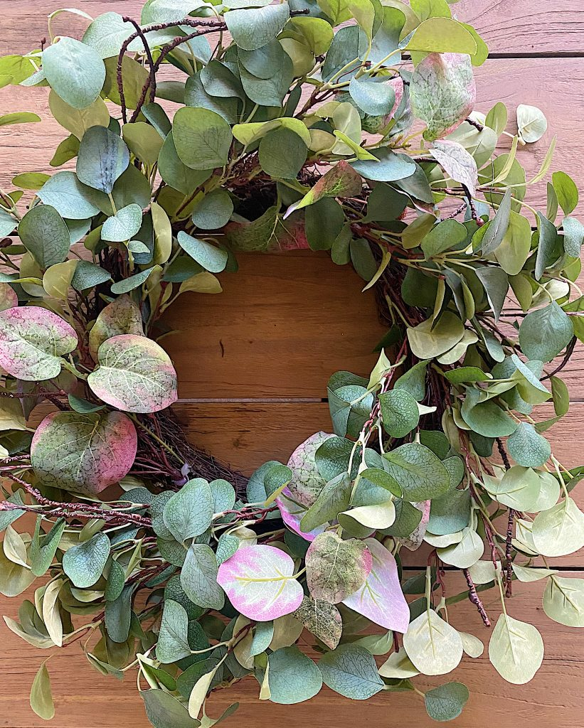 DIY Front Porch Wreath