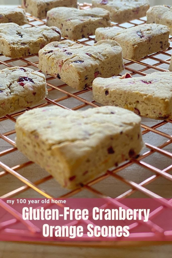 Gluten-Free Cranberry Orange Scones