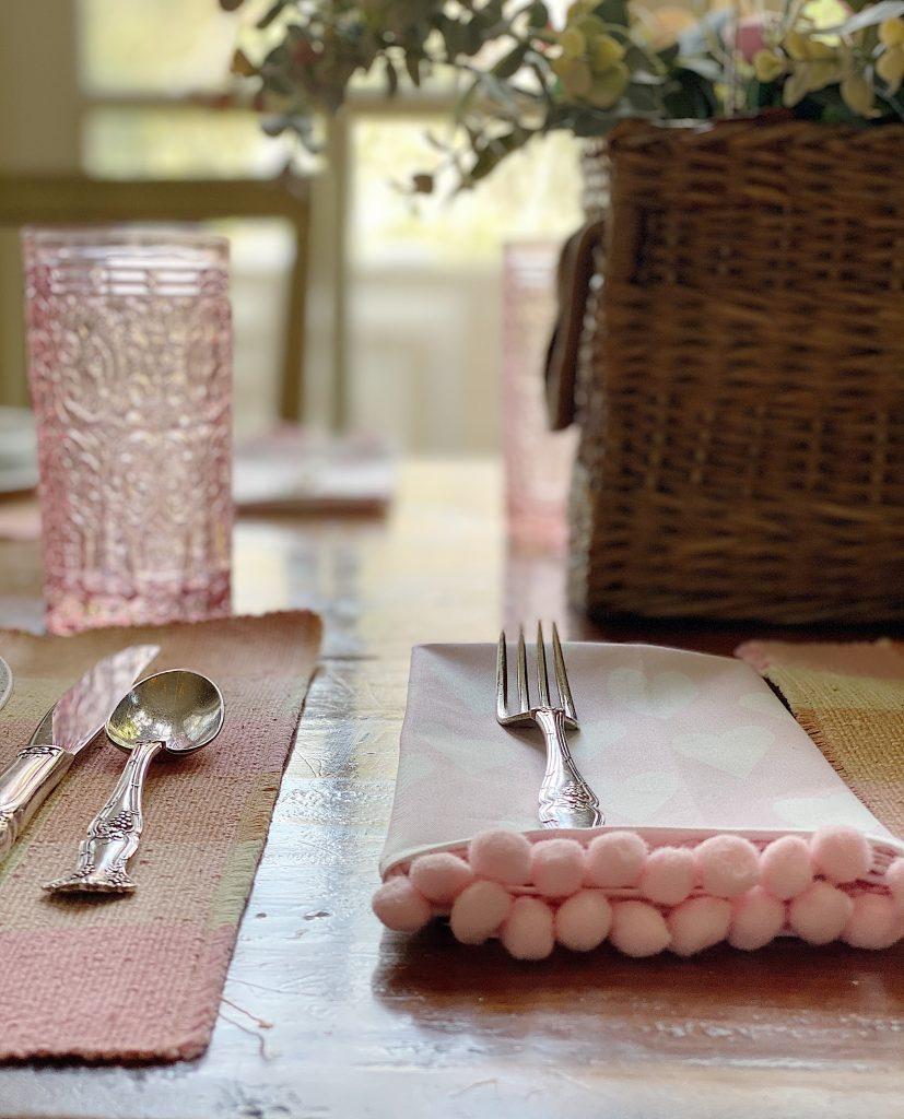 Home Decor Ideas with Custom Fabric Napkins