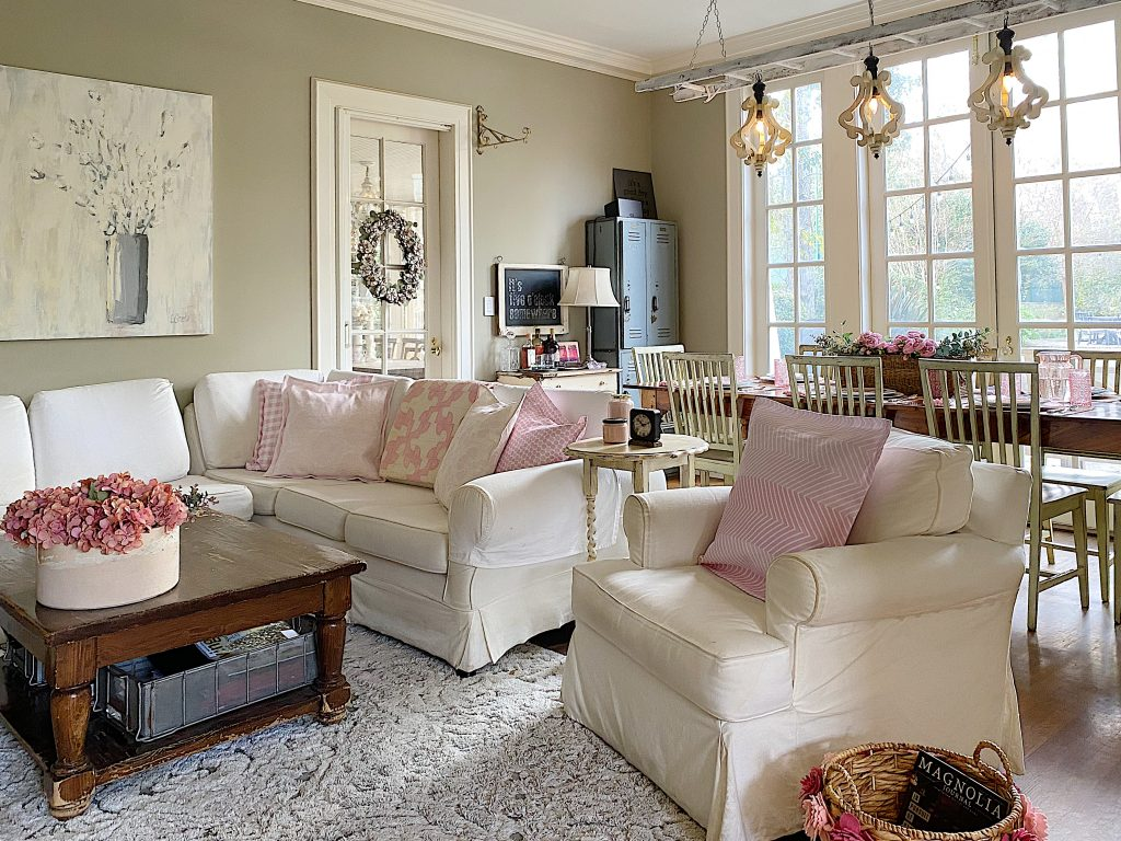 Home Decor Ideas with Pink Custom Fabric
