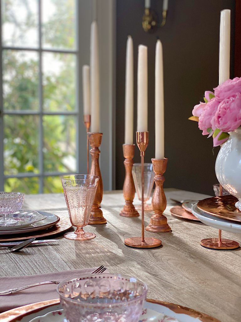 My-Favorite-CopperRose-Gold-Candlesticks