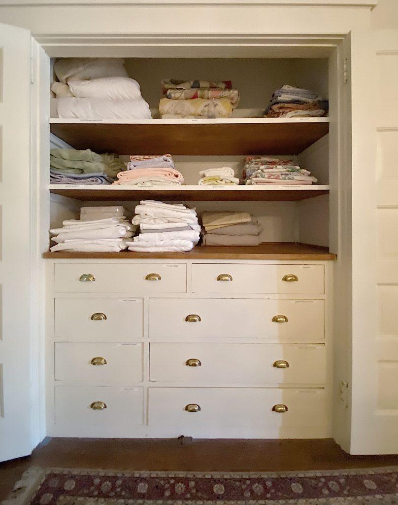 Organize a Linen Closet