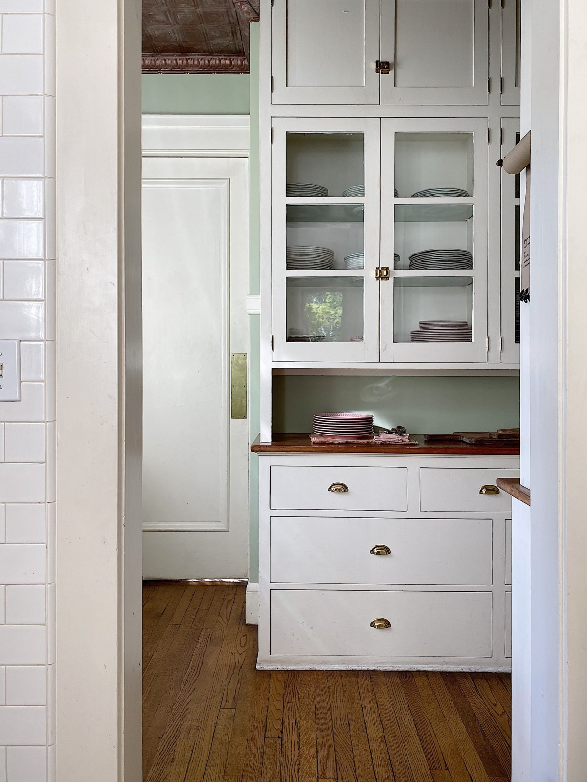 Organizing the Butler's Pantry