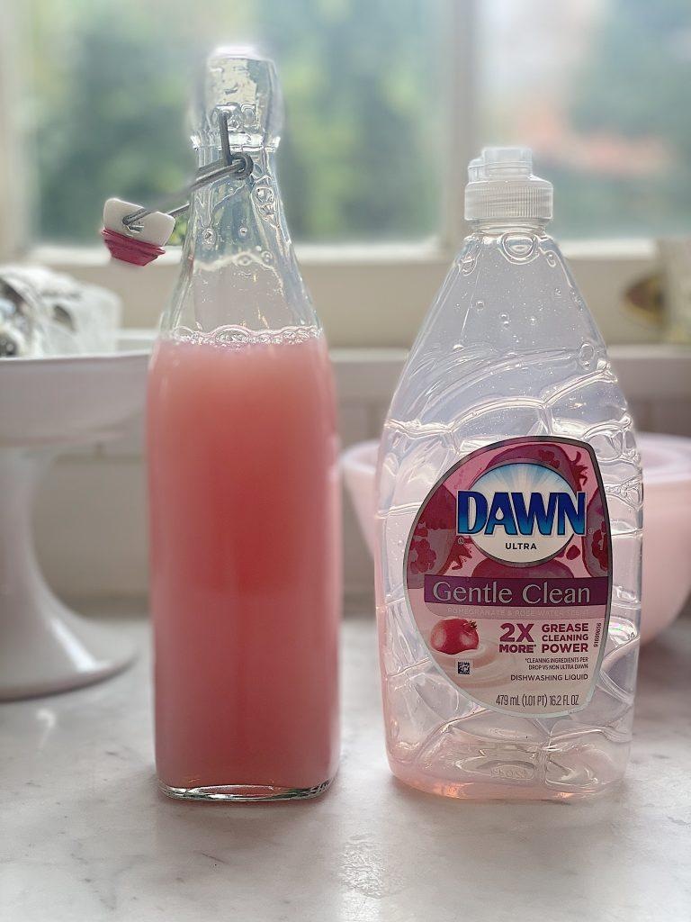 Pink Dish Soap
