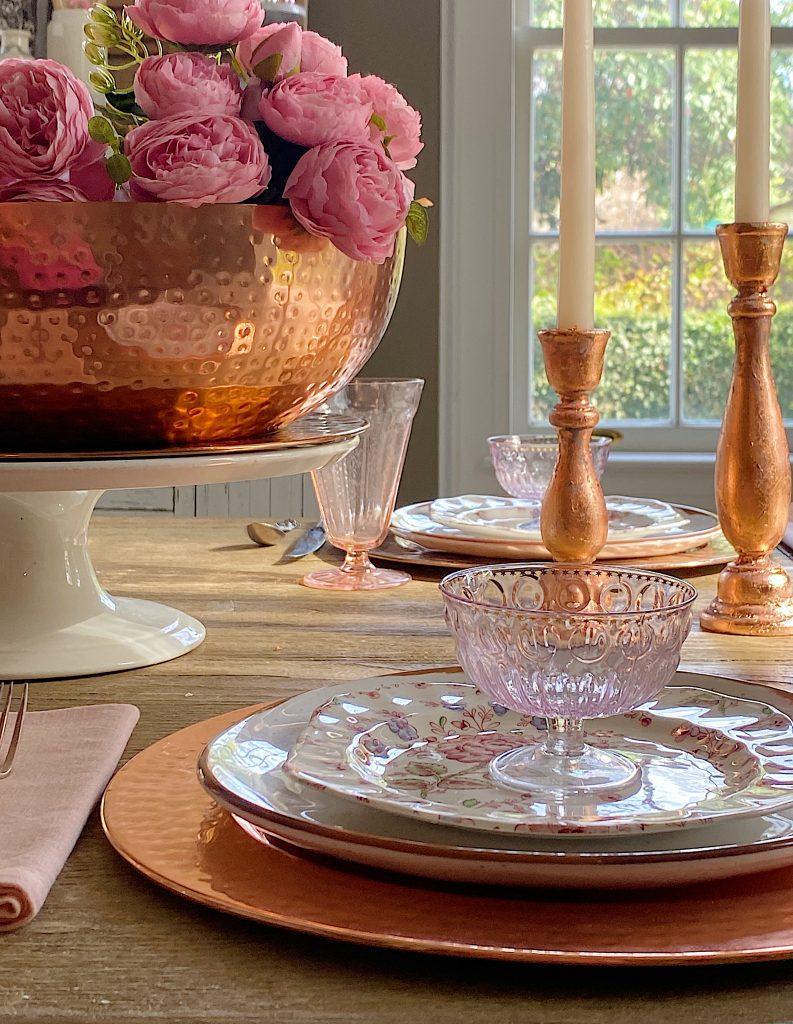 Rose Gold Candlestick Holders DIY