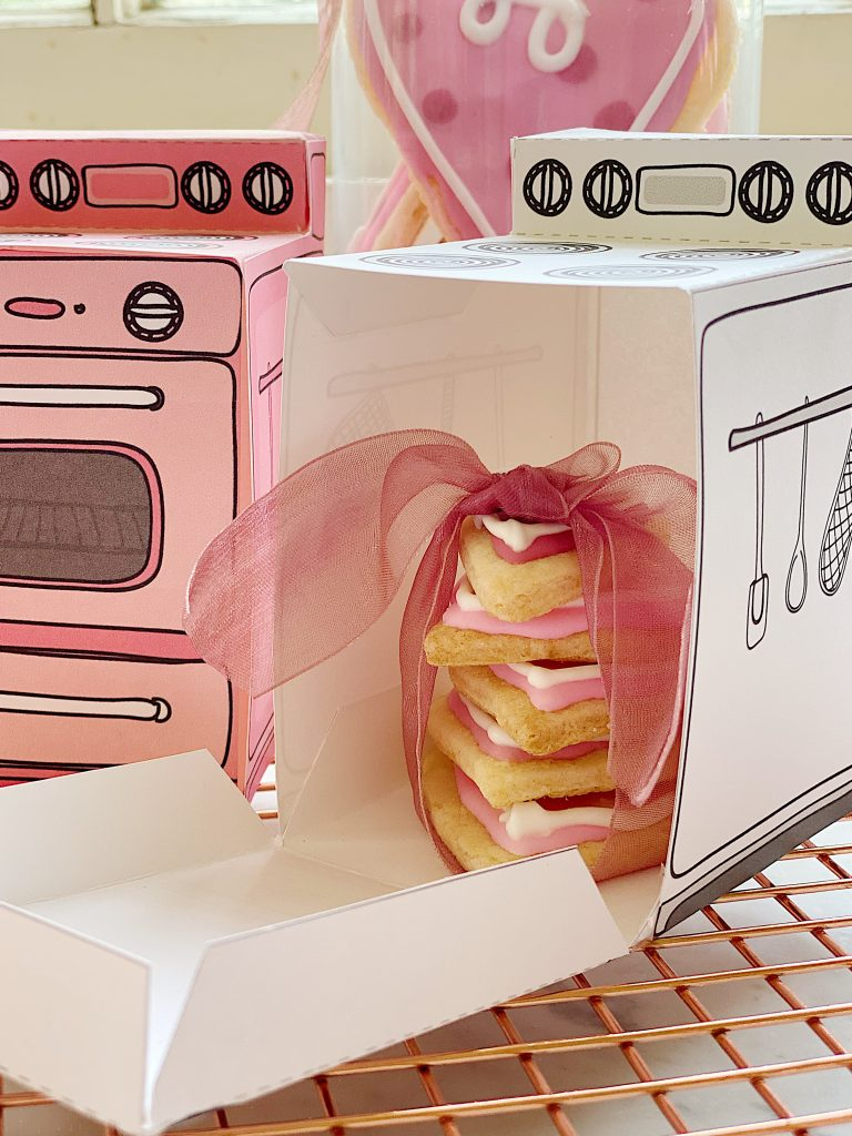 Valentine's Day Cookie Boxes