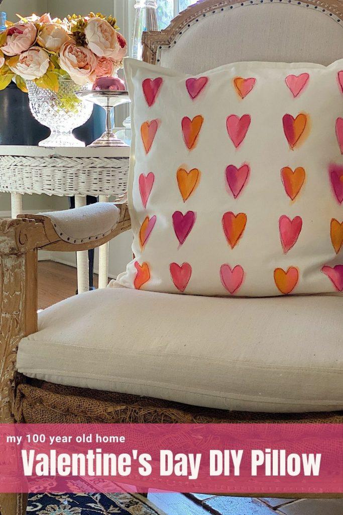 Valentine's Day DIY Pillow
