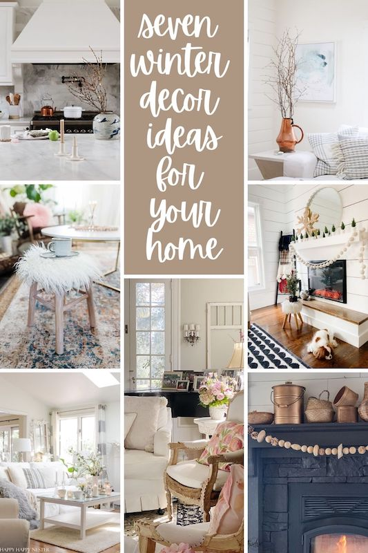 Seven Winter Decor Ideas for Your Home