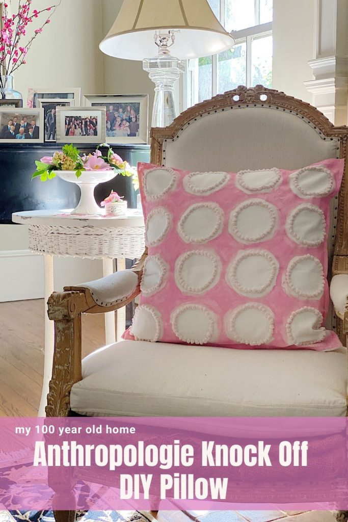 Pink DIY Pillow
