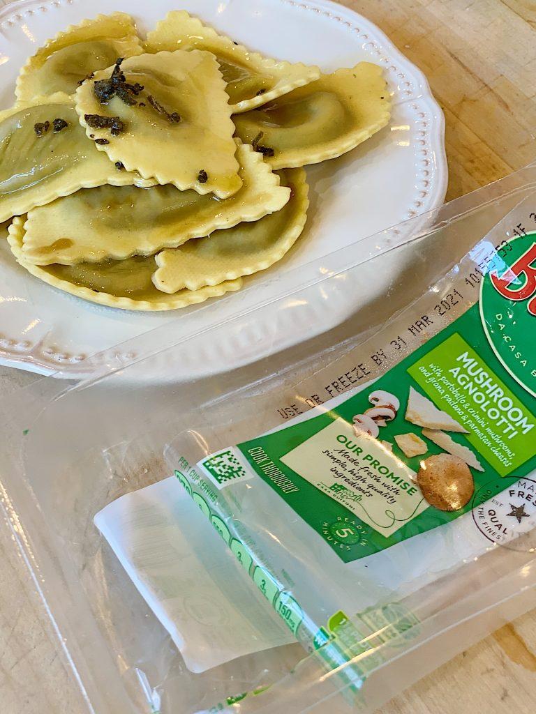Cheater Pasta Dinner