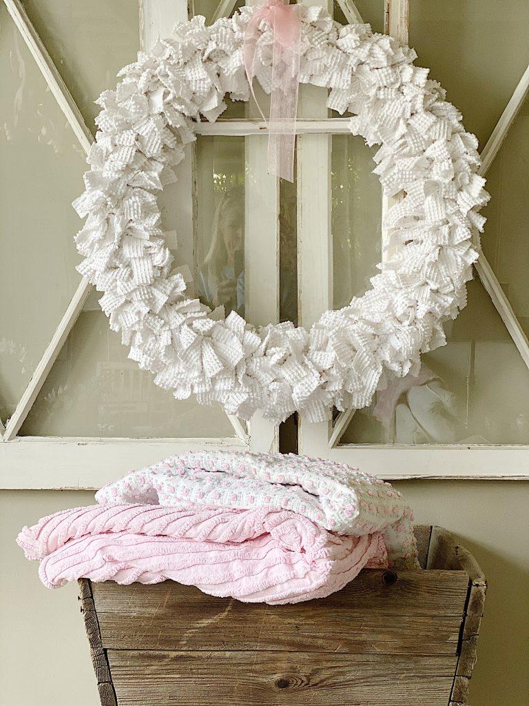 Chenille Wreath