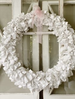 Chenille Wreath Craft