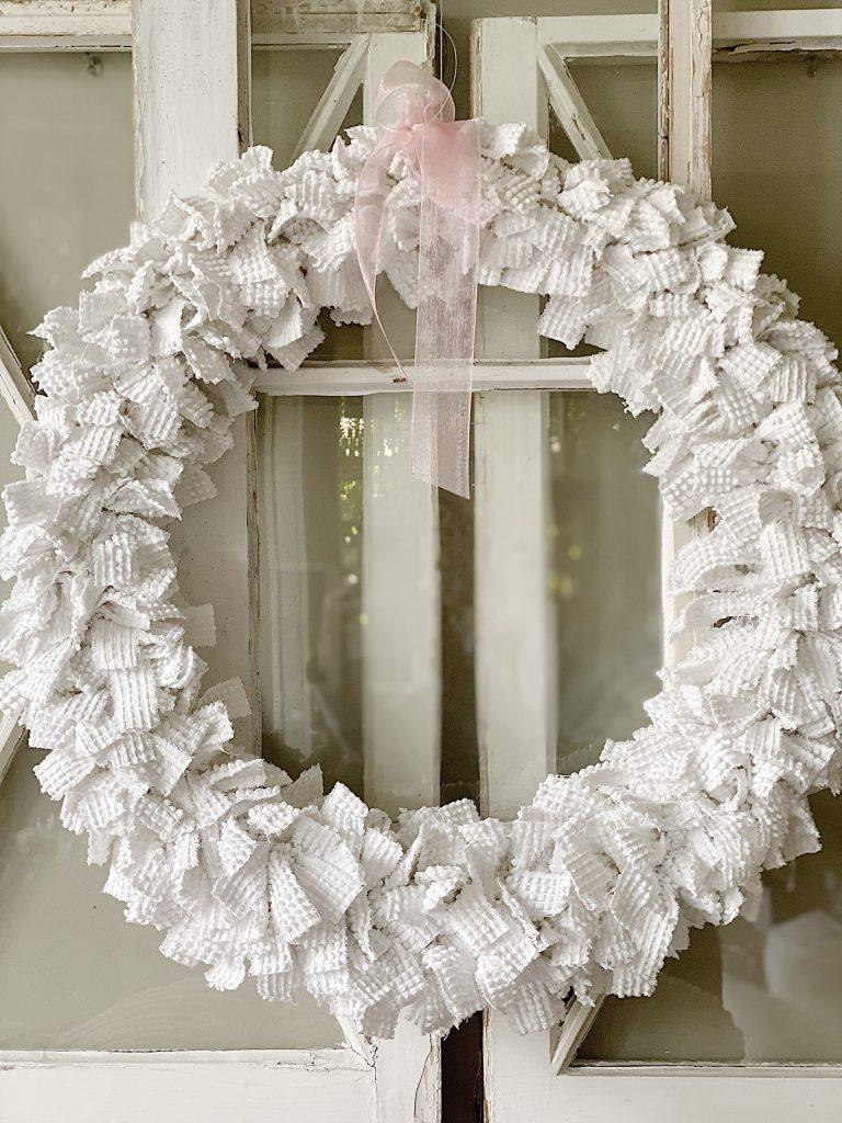 Chenille Wreath Craft