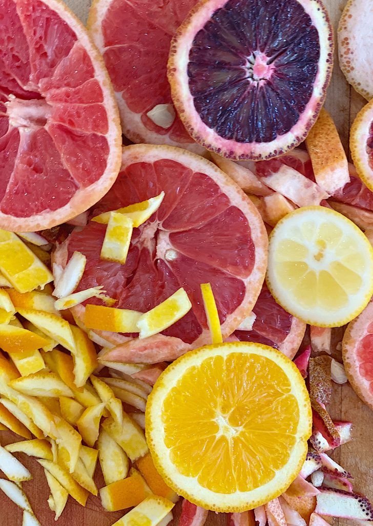 Citrus for Lemon Tart Recipe