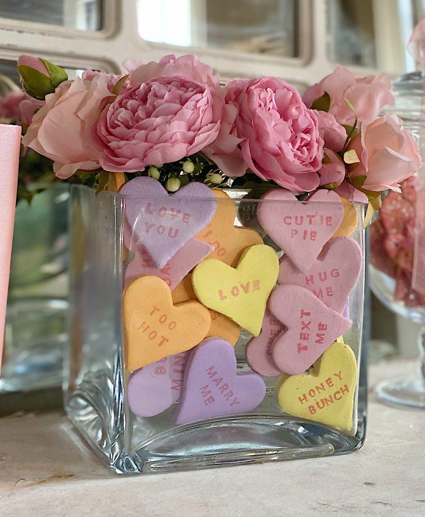DIY Valentine Conversation Hearts