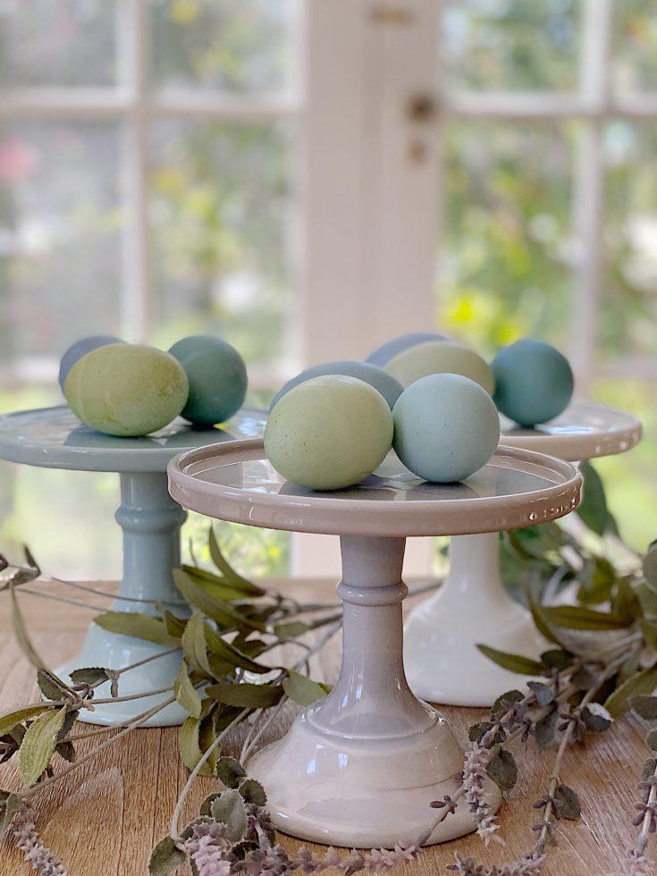 Eggs Dyed Like Araucana Eggs