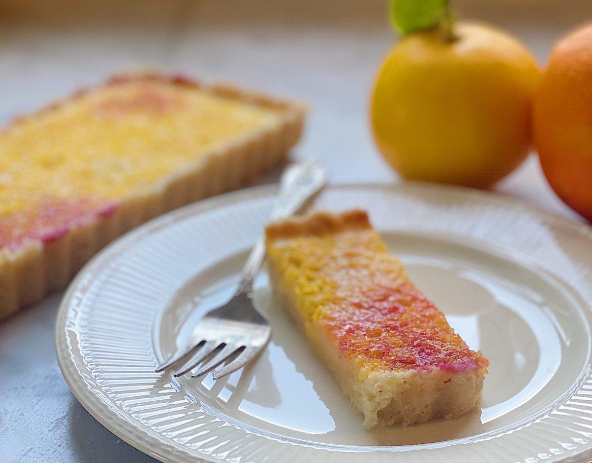 Fruit Stained Lemon Tart Recipe