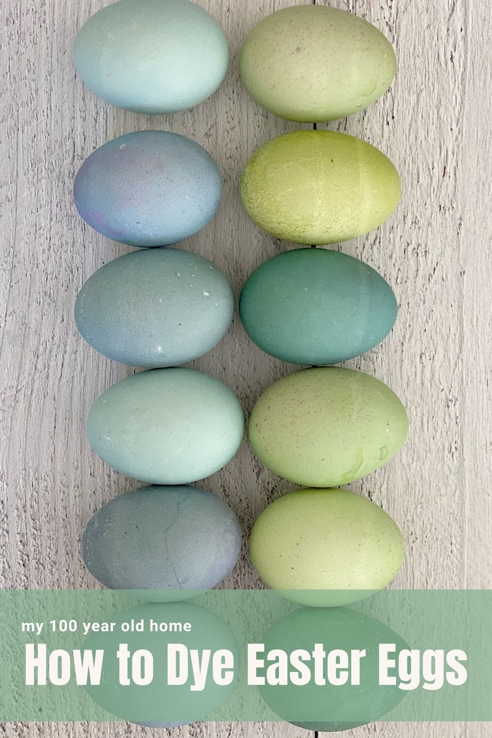 I have always loved Araucana chicken eggs ever since Martha Stewart shared them in her magazine. Today I shared how to dye Easter eggs in the same beautiful chicken egg colors.