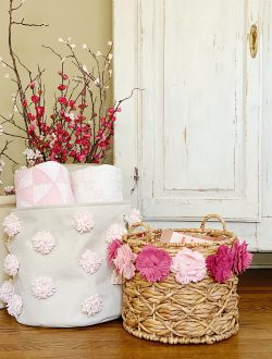 Make Your Own Decorative Baskets for Spring