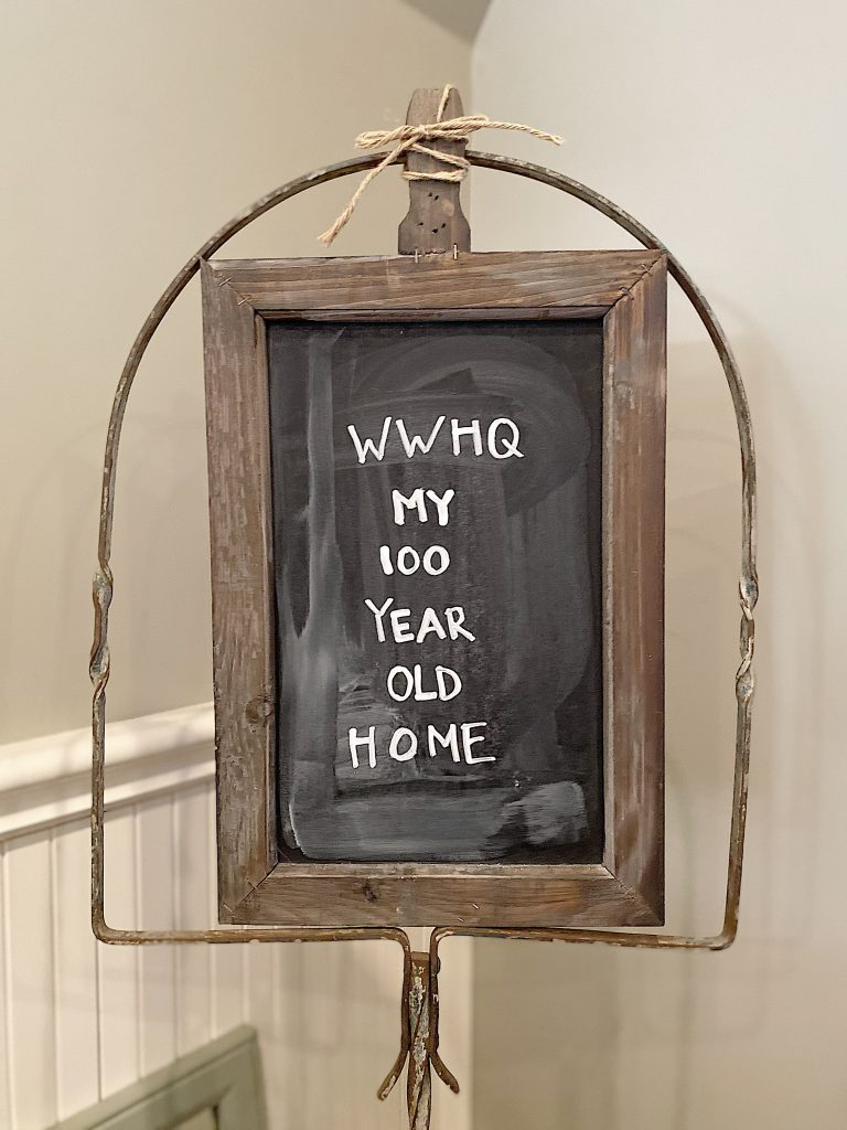 My 100 Year Old Home Office Sign