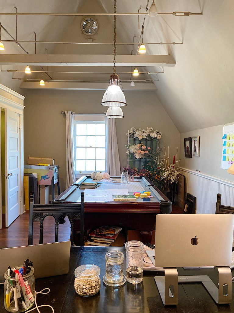 My 100 Year Old Home Offices