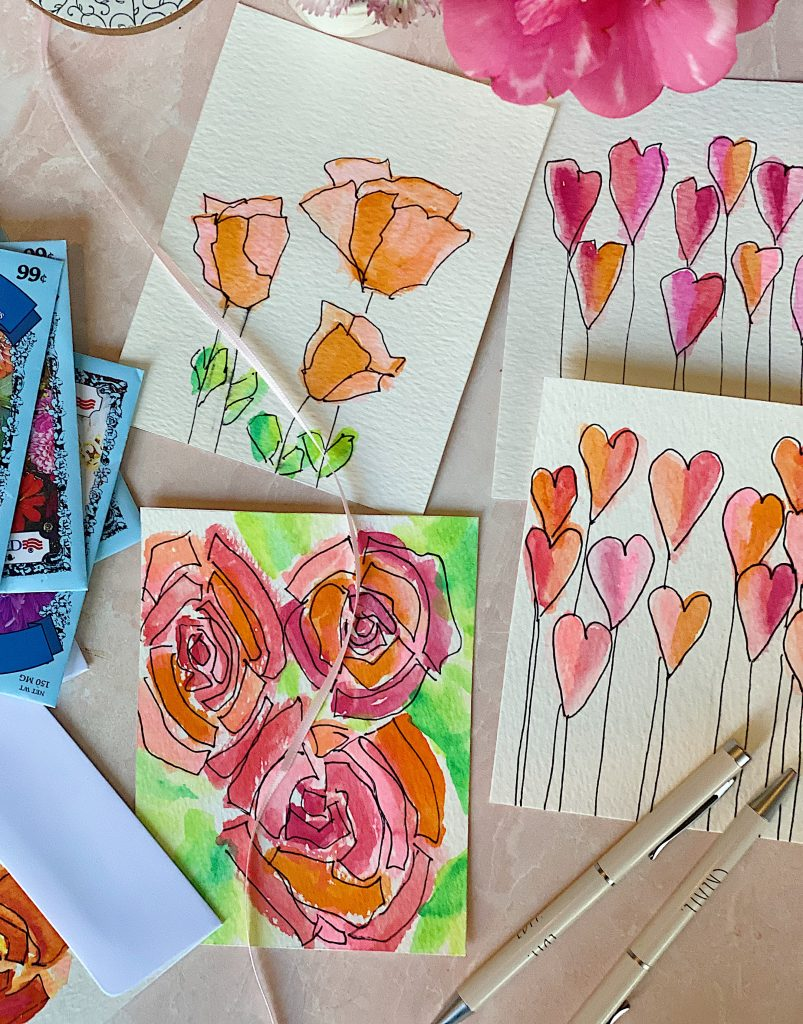 Paint Valentine's Day Cards 2