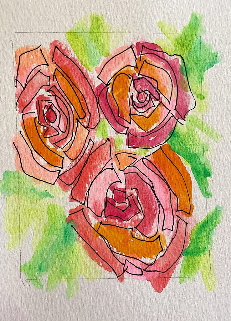 Paint Valentine's Day Cards 4