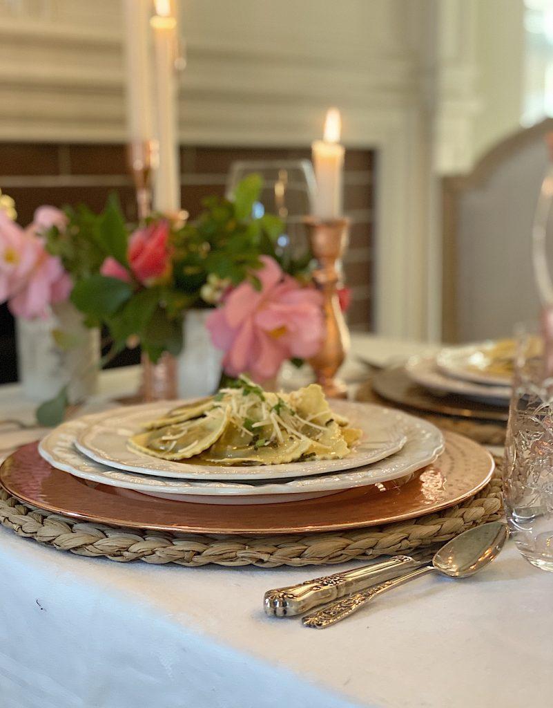 Romantic Pasta Dinner