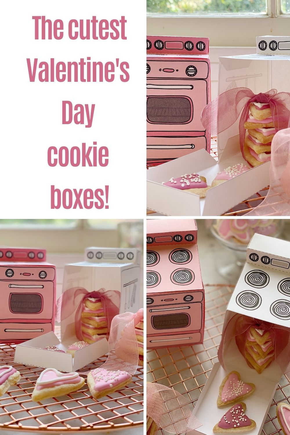 I think cookies always taste best when they are fresh from the oven. I found some Valentine's Day Cookie Boxes that guarantee your cookies are always fresh from the oven.
