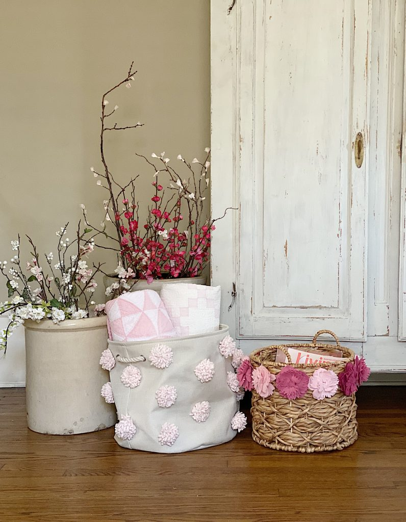 Two Decorative Baskets