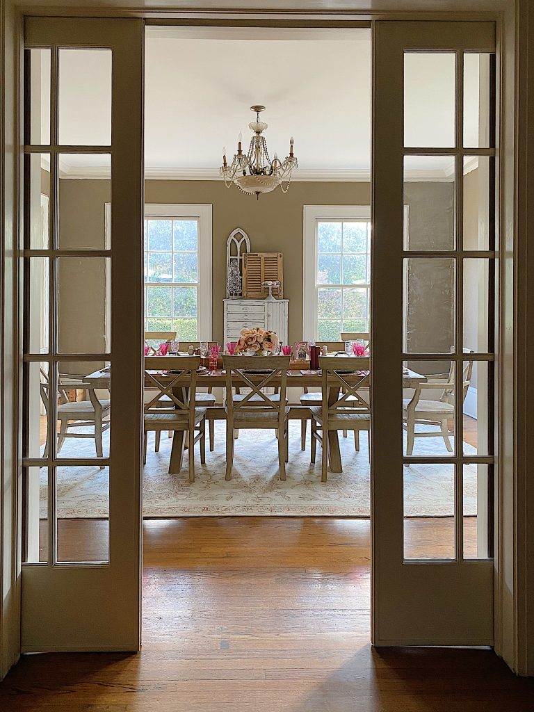 View of Beautiful Dining Room