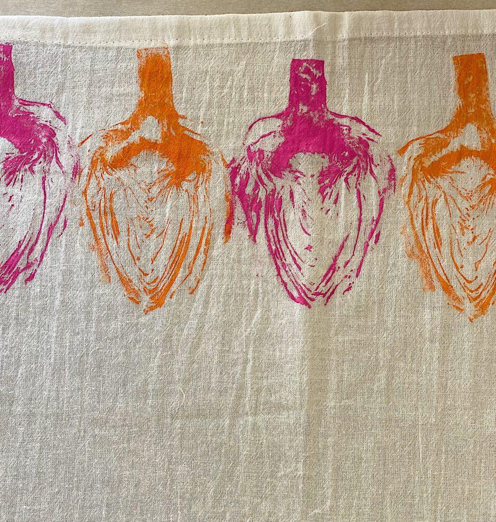 Artichokes Printed Dish Towels