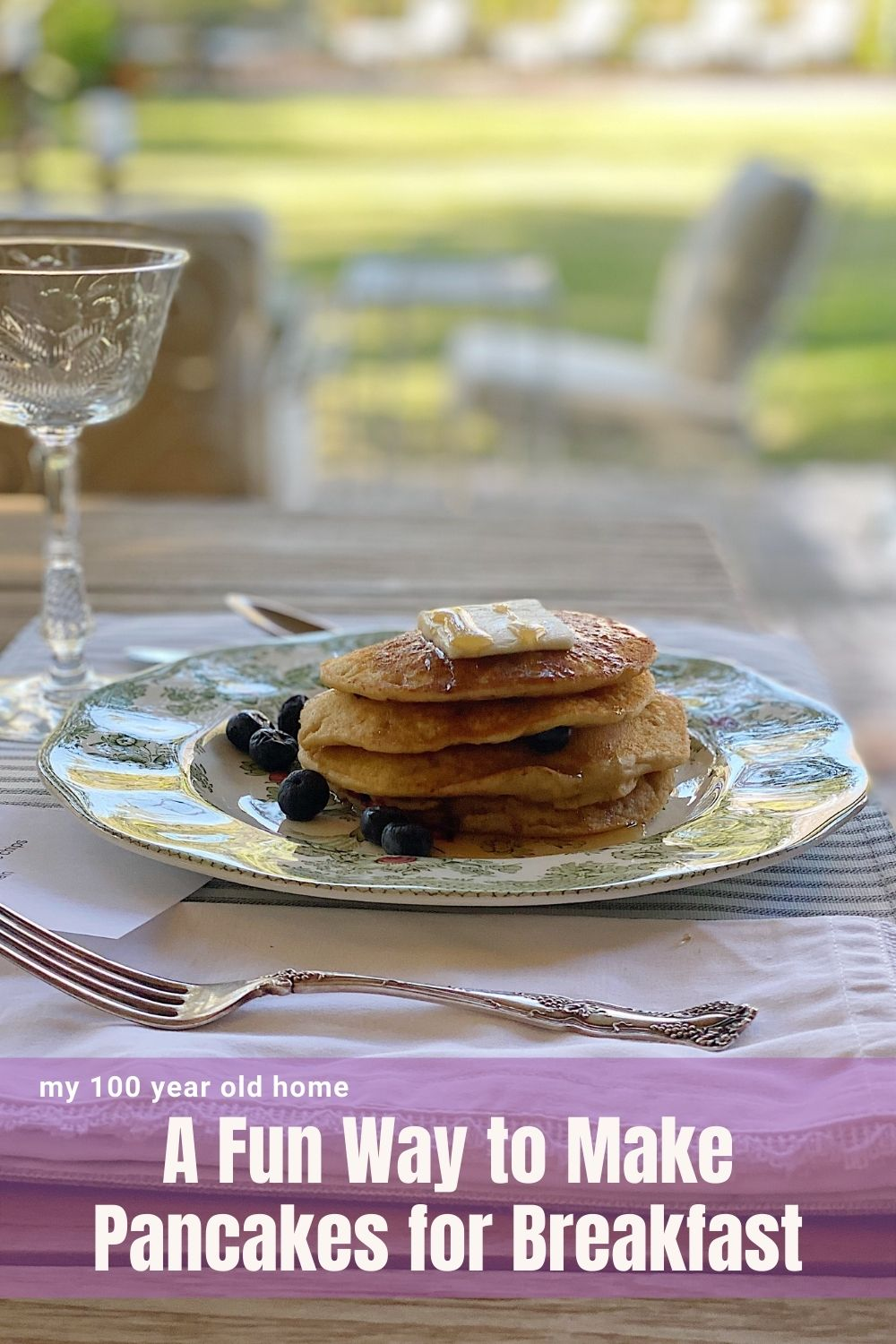 We love to enjoy pancakes at our home but all five of us like something different! I can't wait to share my fun idea to serve pancakes for breakfast to our entire family.
