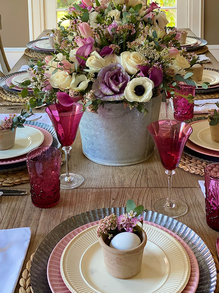 Easter Table for Brunch