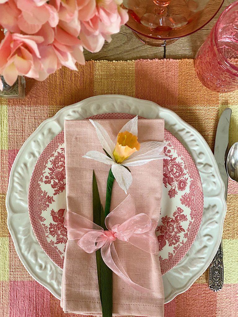 Easy Paper flower Daffodils