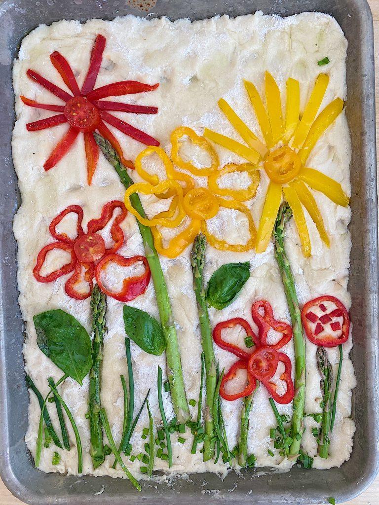 Focaccia Art Bread