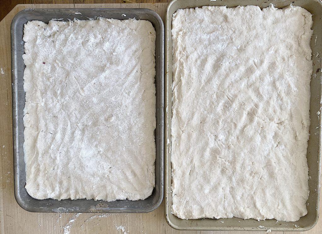 Focaccia Bread Dough Gluten Free