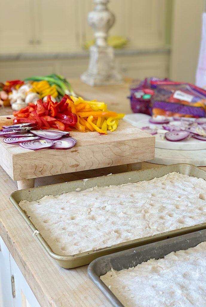 Focaccia Bread Recipe for Garden