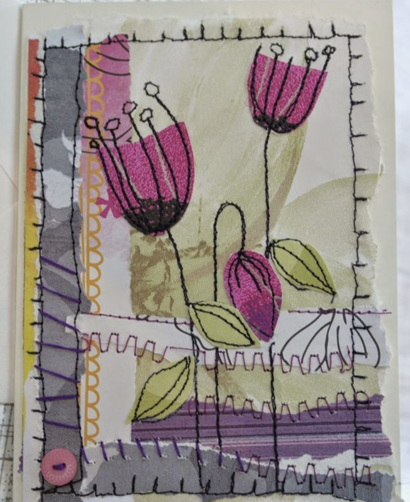 Free Stitch Embroidery