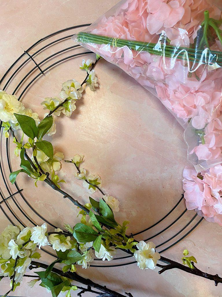 Garden Spring Wreath Supplies