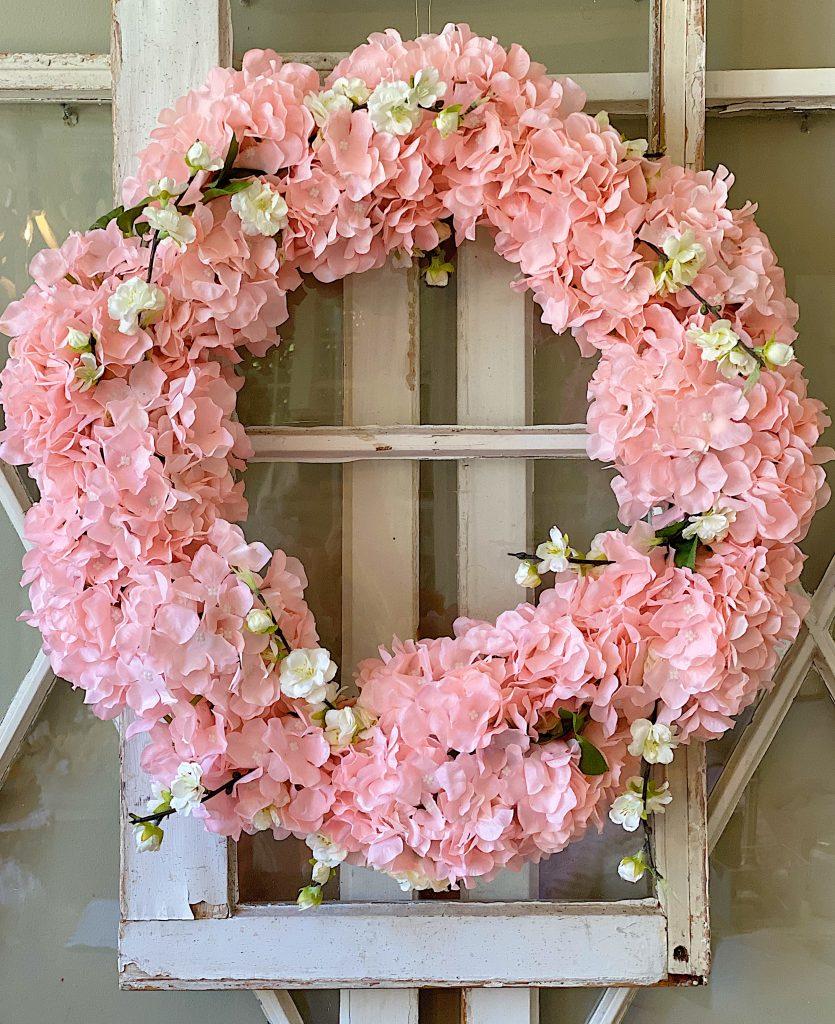 Garden Wreath for Spring