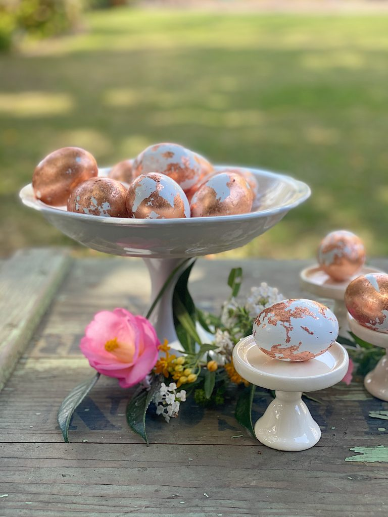 How to Make Copper Foil Easter Eggs DIY