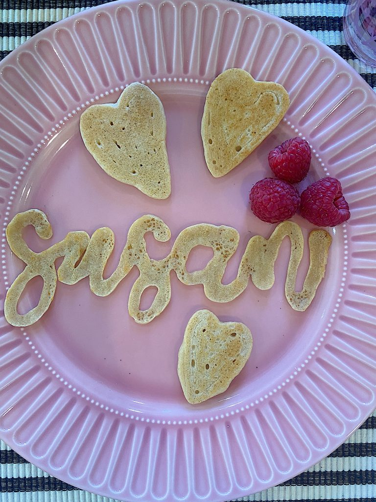 How to Make Easy Pancakes with a Name