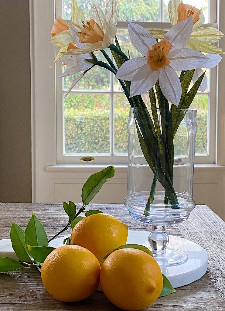 How to Make Easy Paper Flower Daffodils
