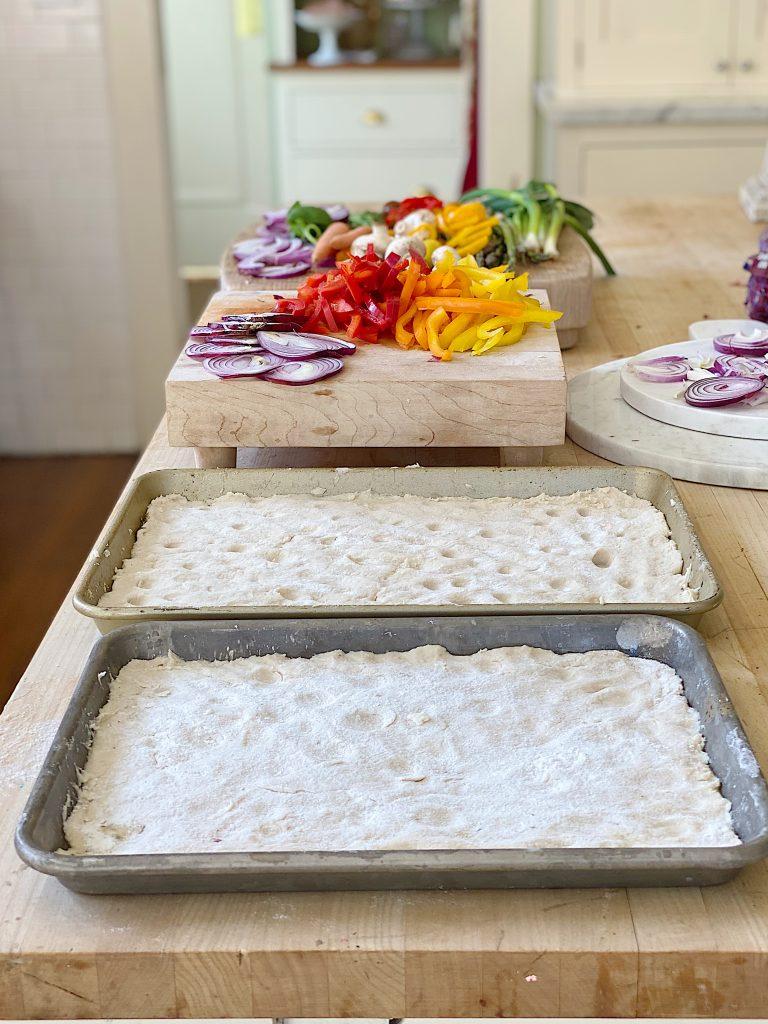 How to Make Focaccia Bread Garden Art