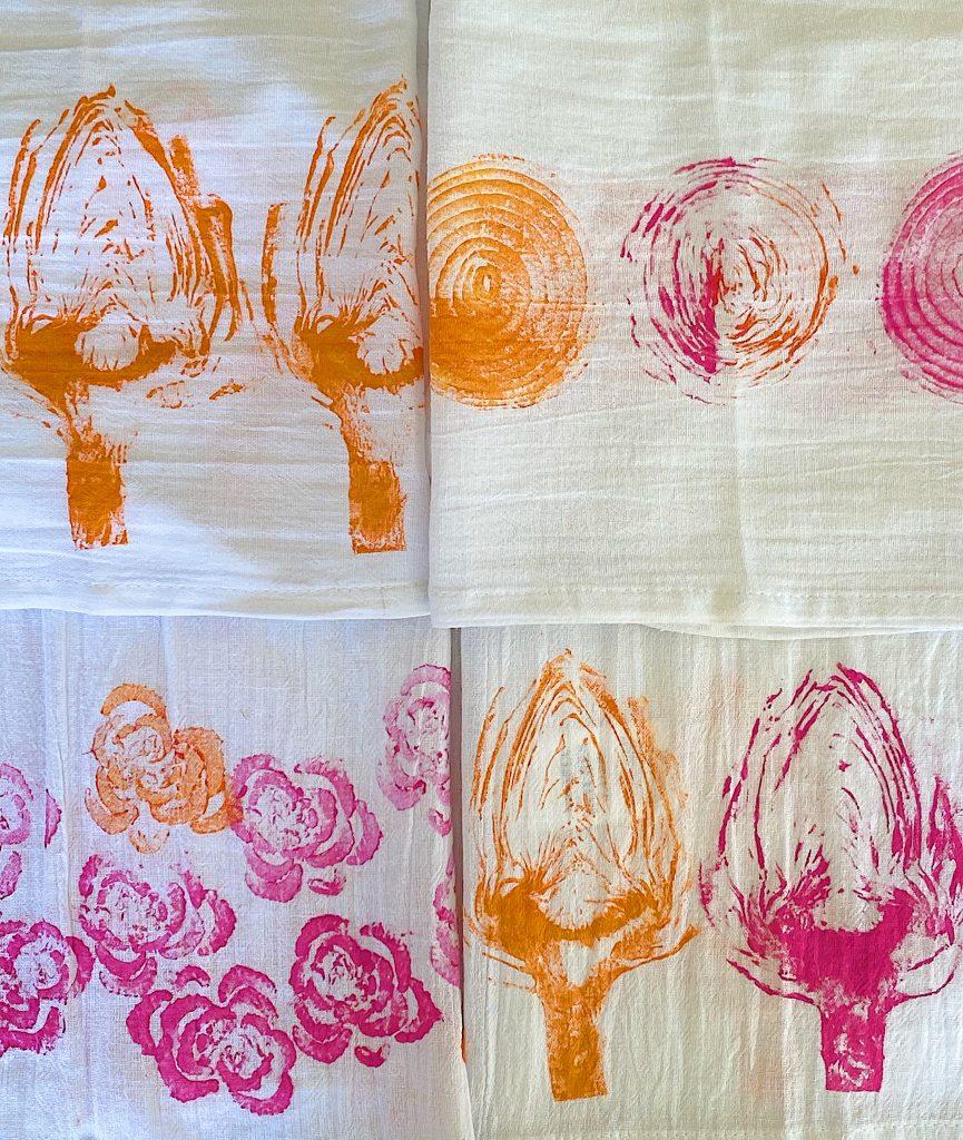 Ink Printed Dish Towels