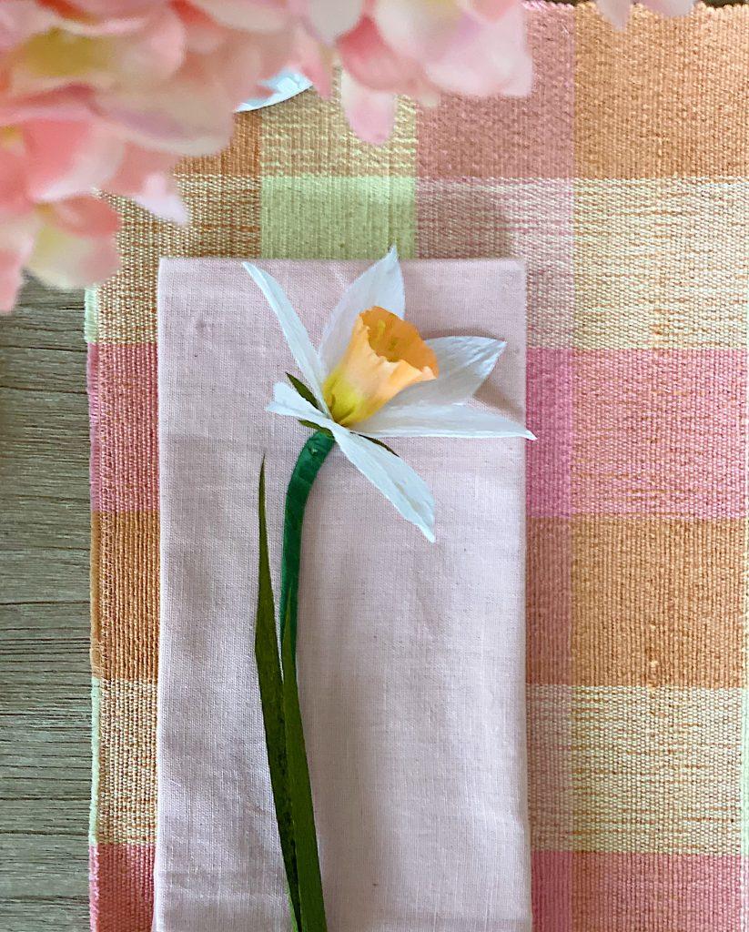 Make Easy Paper Flower Daffodils