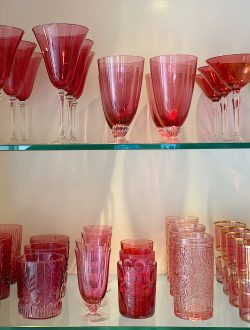 My Obsession with Cranberry Glass