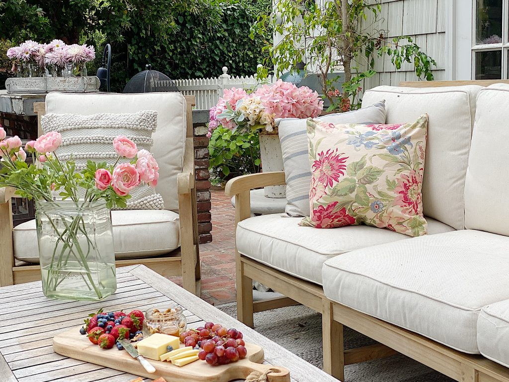 Spring on the Patio
