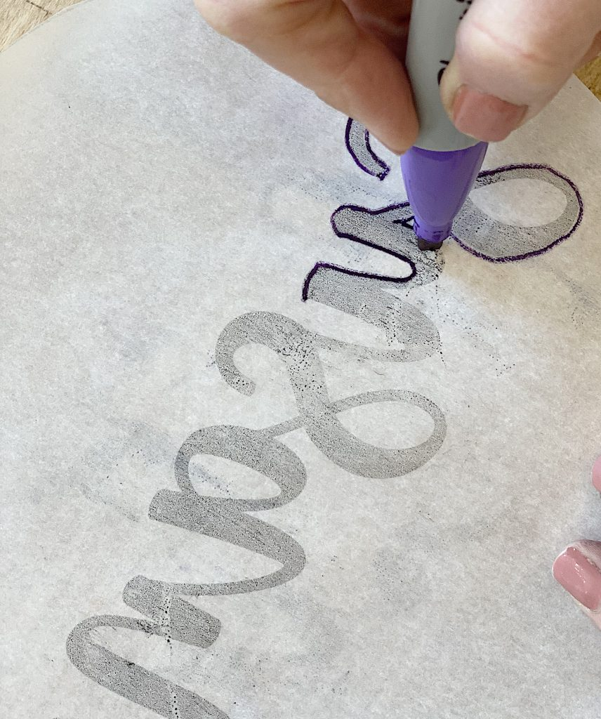 Outline the Letters